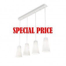 Cairo SP4 D15 Ideal Lux LAMPADINE LED OMAGGIO