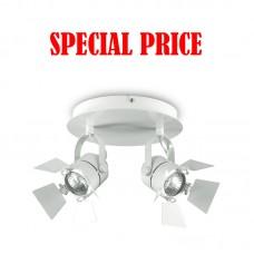 Ciak AP2 bianco Ideal Lux LAMPADINE LED OMAGGIO