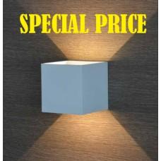 Applique cubo a LED con fascio regolabile Life Electronics
