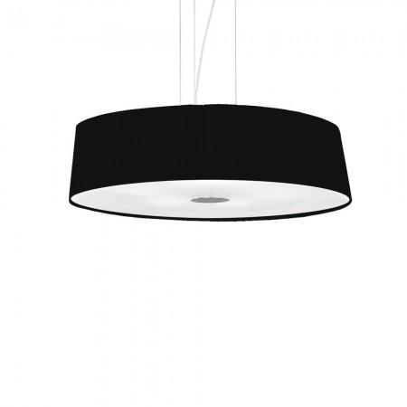 Hilton sp4 round nero con LED Ideal Lux